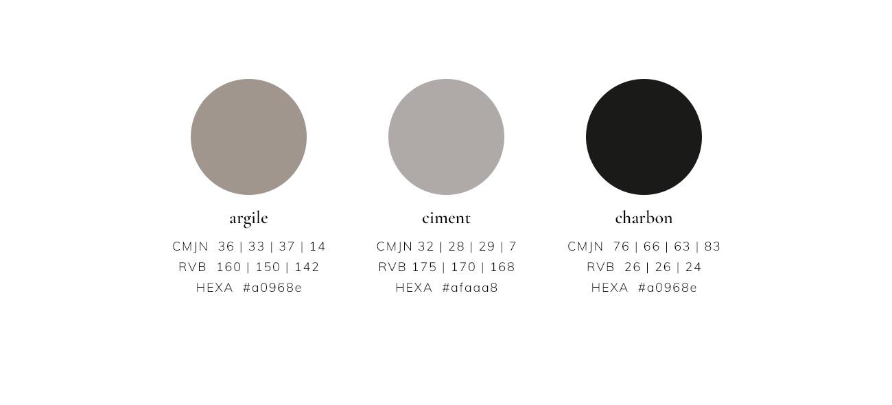 Palette de couleurs Empreintes