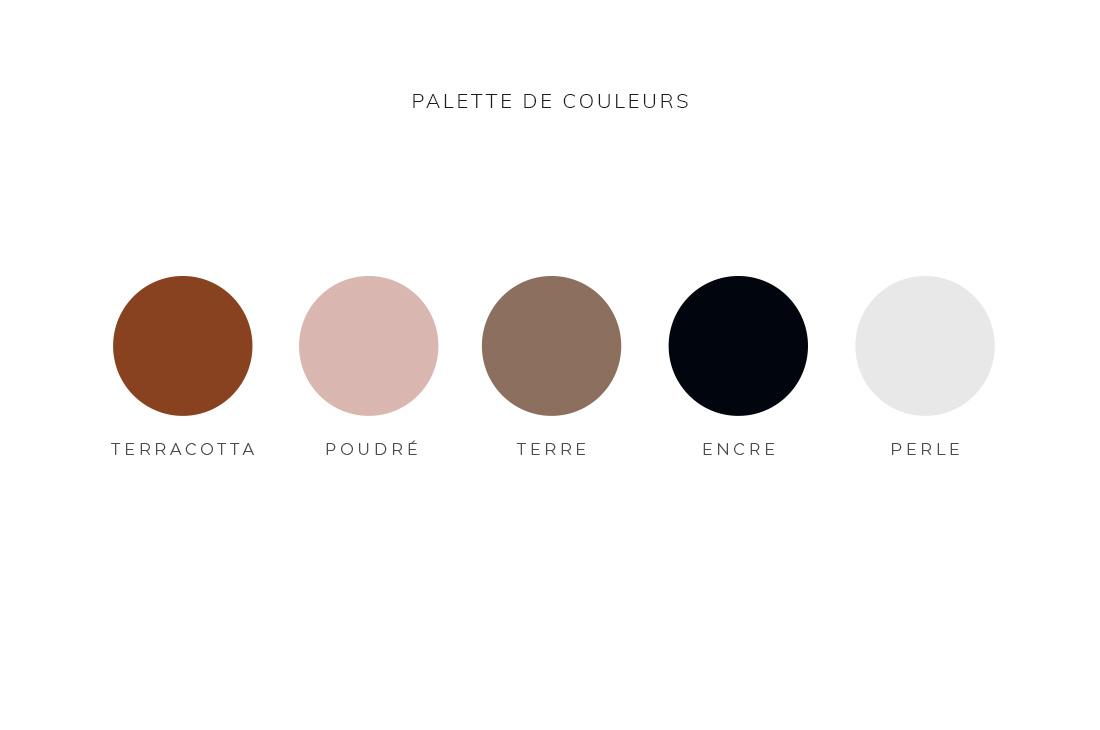 Palette de couleurs Kit Aumantra