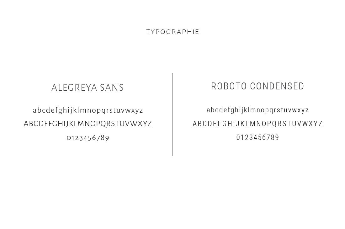 Typographie Kit Aumantra