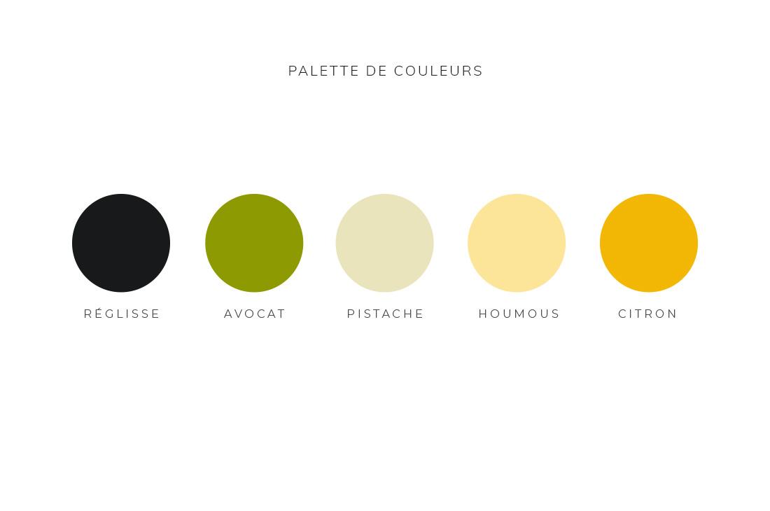 Palette de couleurs Kit Joyeux Jardin
