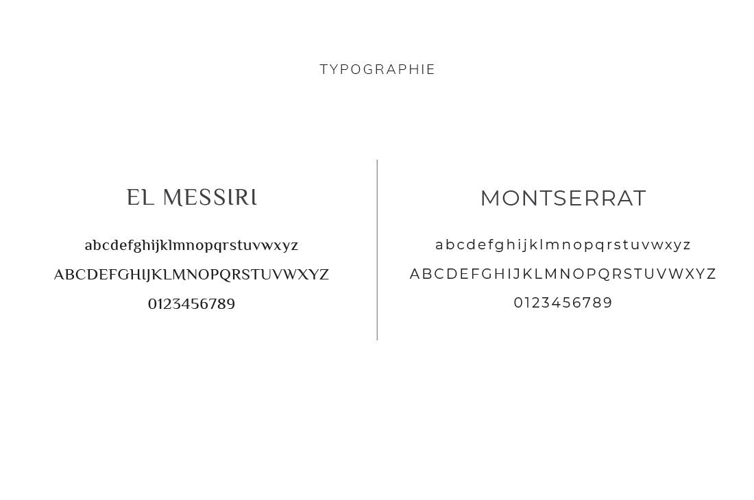 Typographie Kit Joyeux Jardin