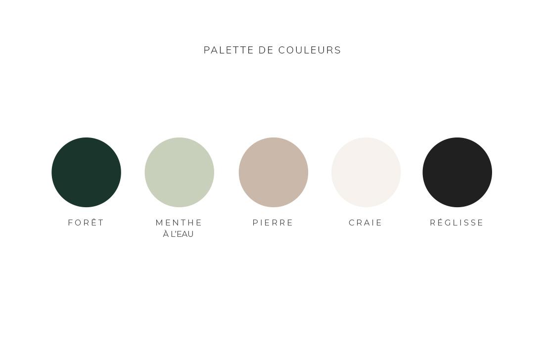 Palette de couleurs Kit Margaux Launey