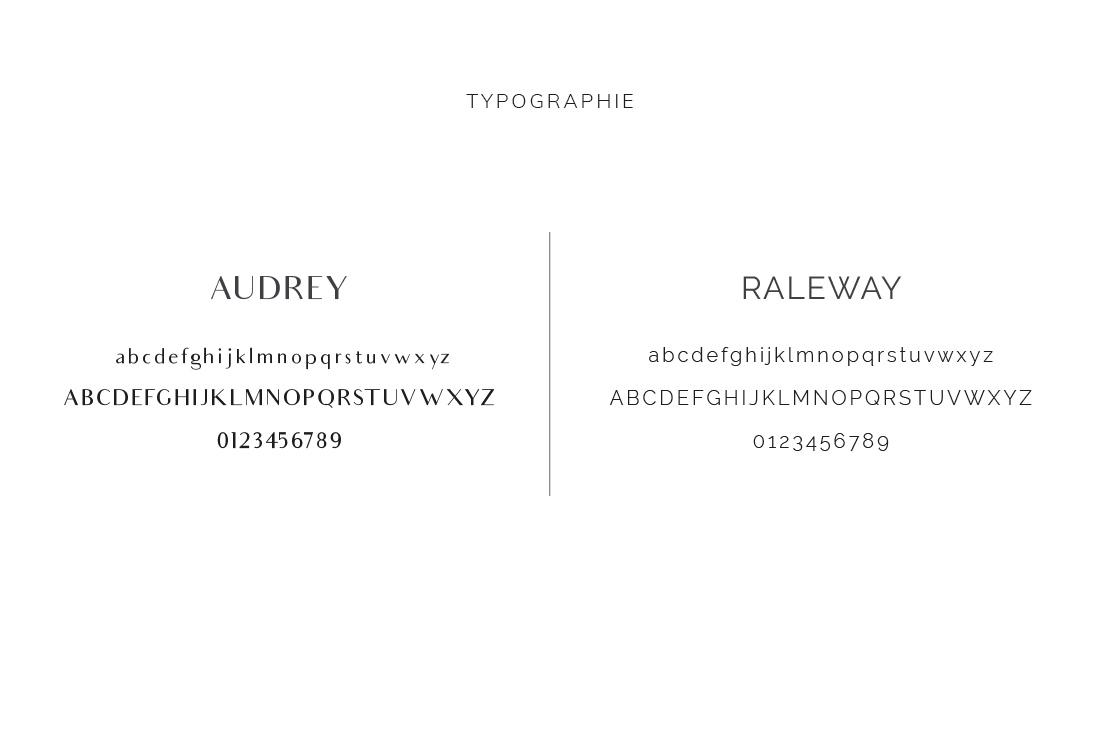 Typographie Kit Margaux Launey