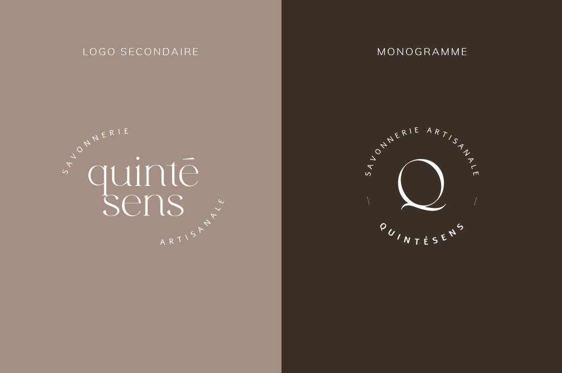 Logo secondaire et monogramme Kit Quintésens