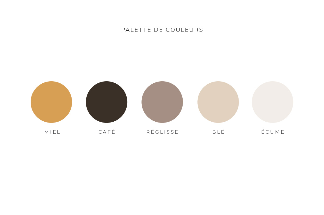 Palette de couleurs Kit Quintésens