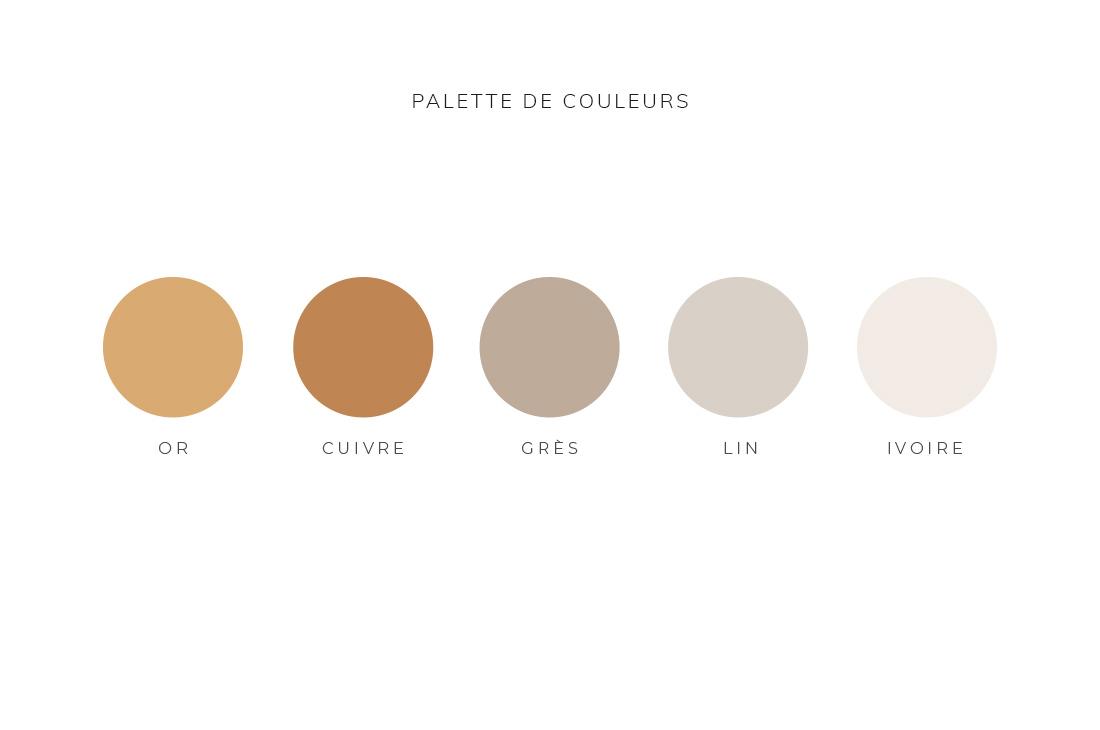 Palette de couleurs Kit Sharlie